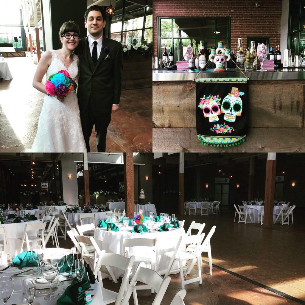 Sugar skull wedding