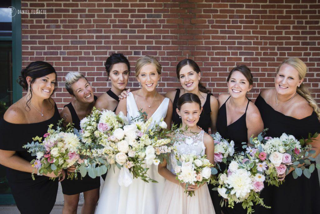Alyssa & David outdoor wedding photos 3