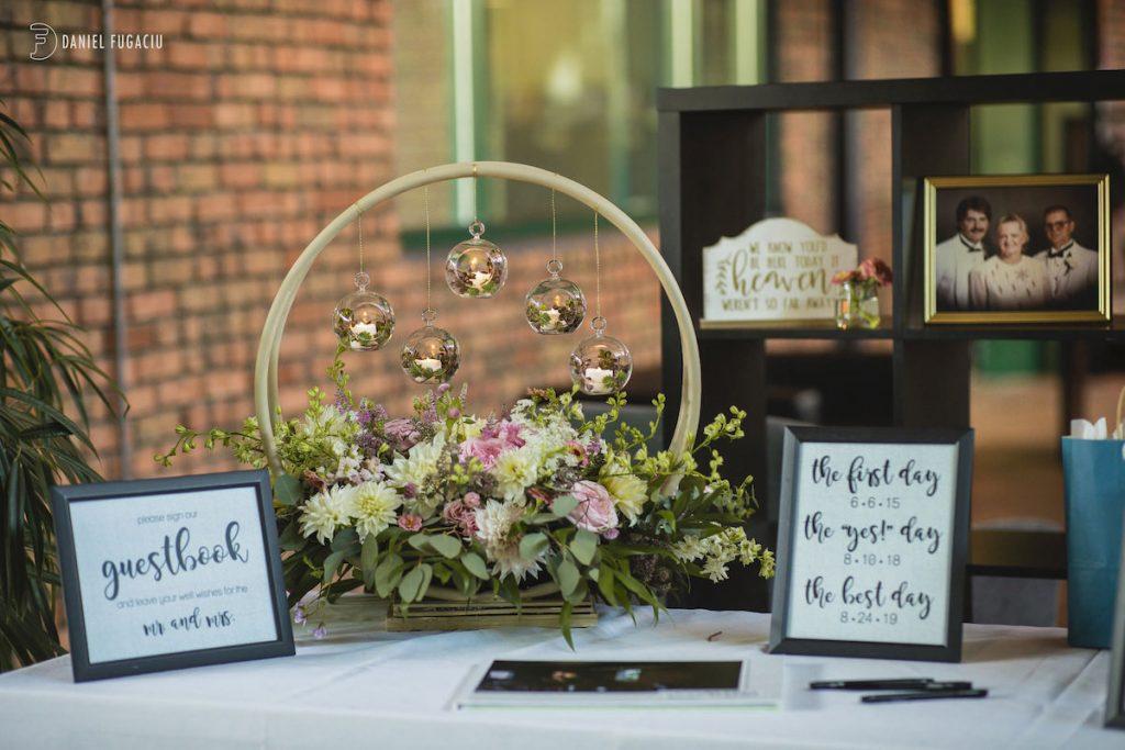 Alyssa & David outdoor wedding photos 6