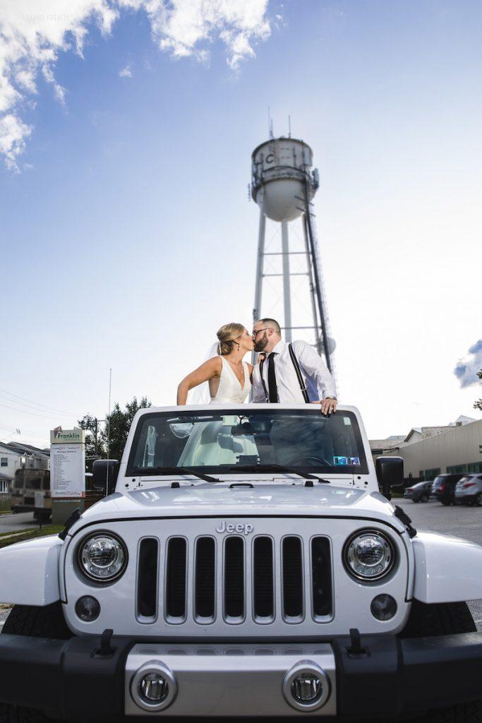 Alyssa & David outdoor wedding photos 9